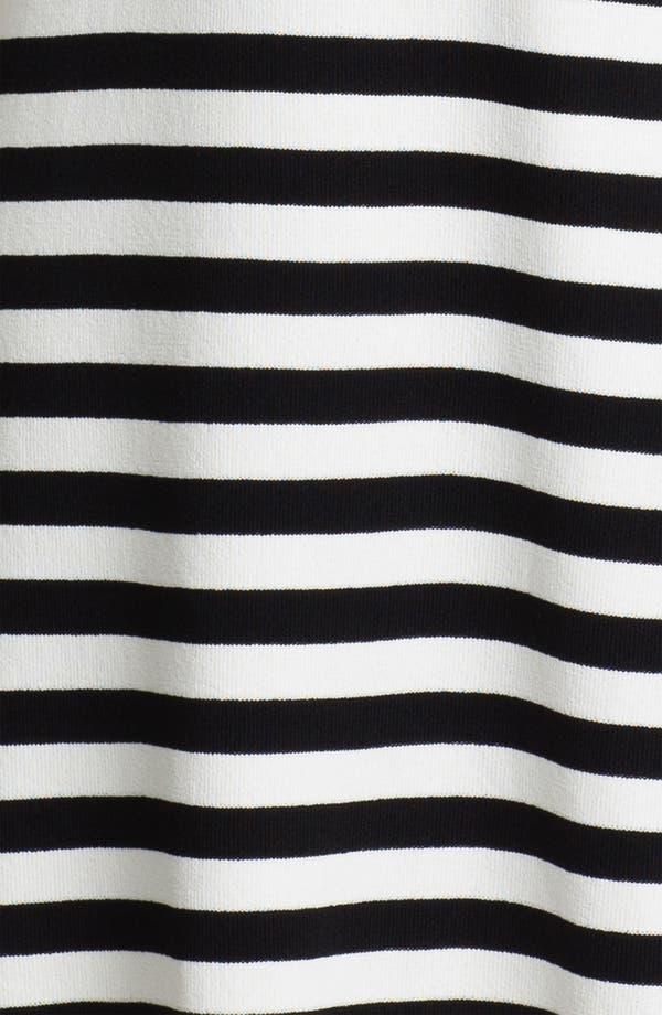 Alternate Image 3  - Calvin Klein Cap Sleeve Stripe Sweater Dress