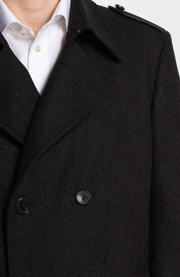 Alternate Image 3  - BOSS Black 'Husk' Double Breasted Topcoat