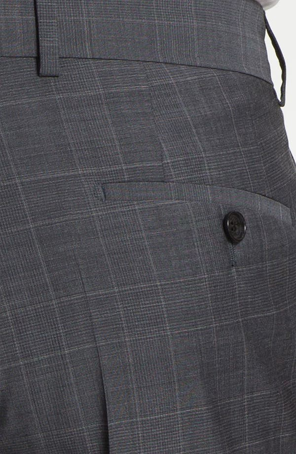 Alternate Image 6  - BOSS Black 'Pasini/Movie' Plaid Suit