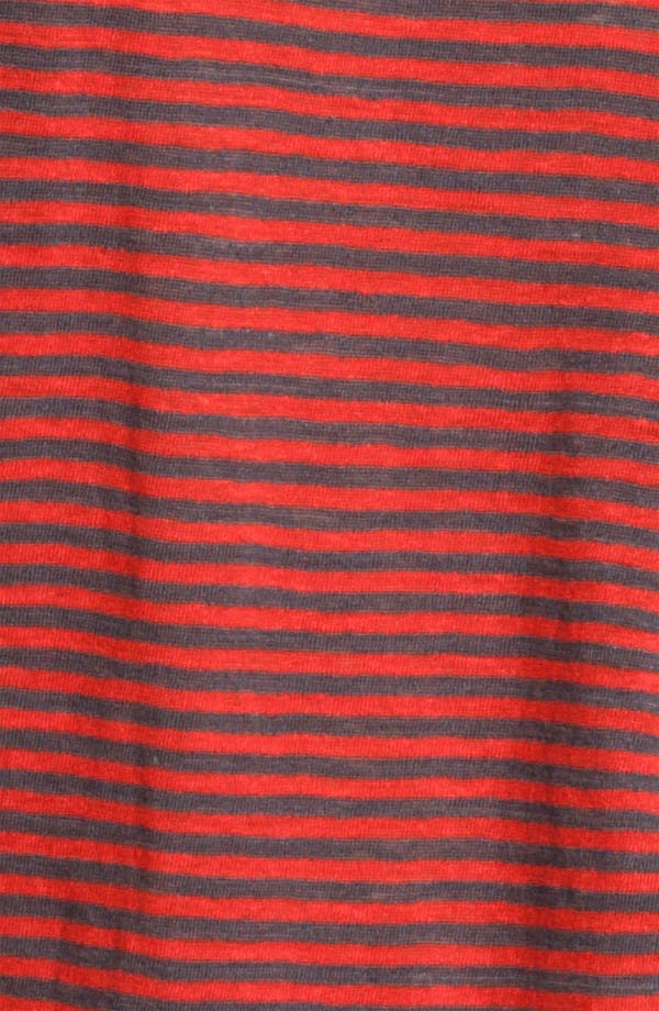 Alternate Image 3  - Eileen Fisher Stripe Linen Jersey Top