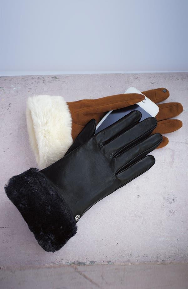 Alternate Image 2  - UGG® Australia 'Fashion Shorty' Tech Glove