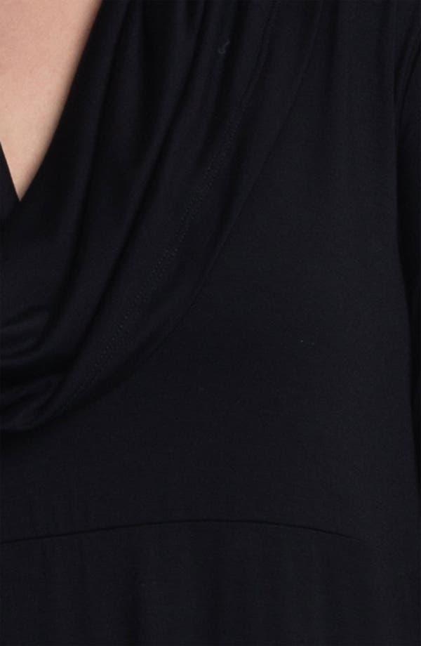 Alternate Image 3  - Karen Kane Drape Neck Knit Dress (Plus)