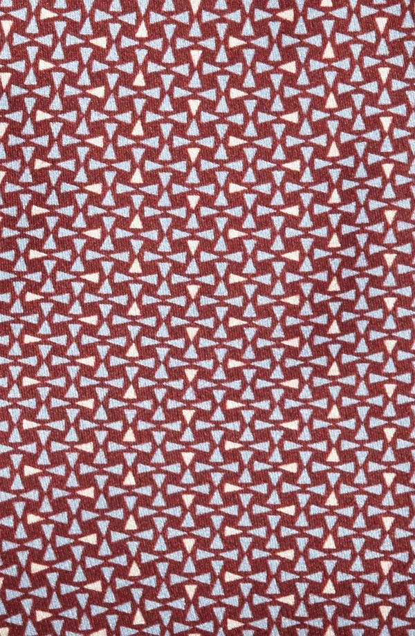 Alternate Image 2  - Yves Saint Laurent Triangle Pattern Silk Woven Tie