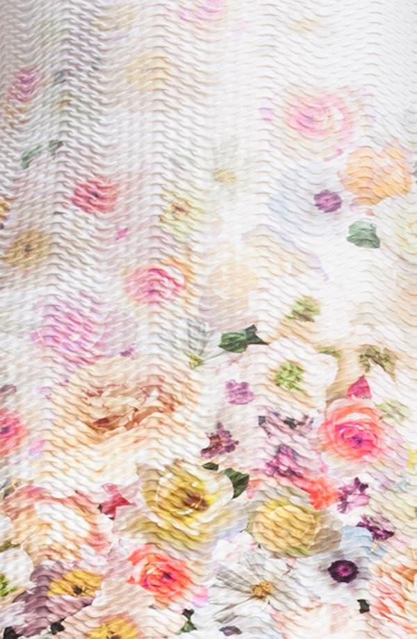 Alternate Image 3  - MSGM Floral Print Sheath Minidress