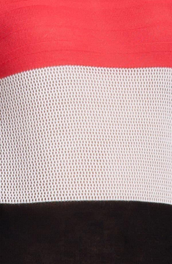 Alternate Image 5  - MSGM Colorblock Stripe Sweater