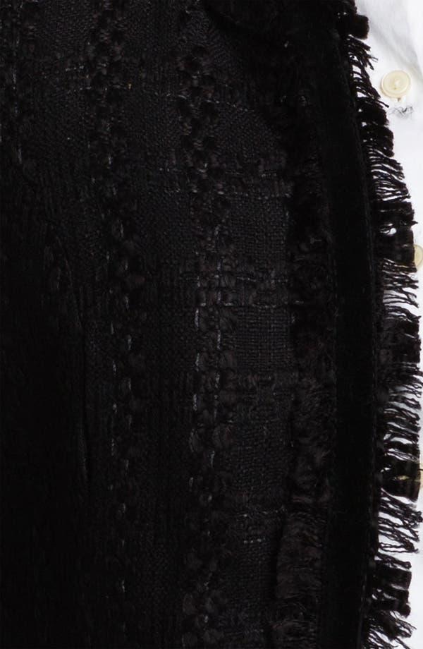 Alternate Image 3  - Max & Mia Fray Edge Open Front Jacket