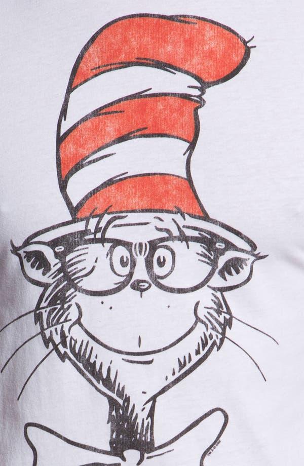 Alternate Image 3  - Topless 'Nerdy Cat' Graphic T-Shirt