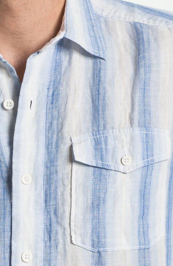 Alternate Image 3  - Tommy Bahama 'Eastern Seaboard' Linen Sport Shirt (Big & Tall)