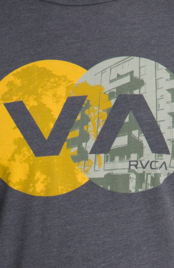 Alternate Image 3  - RVCA 'VA Circles' Vintage Wash T-Shirt