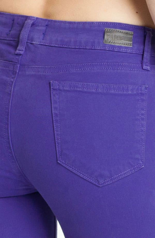 Alternate Image 3  - Paige Denim 'Verdugo' Skinny Stretch Denim Jeans (Violet Blue)