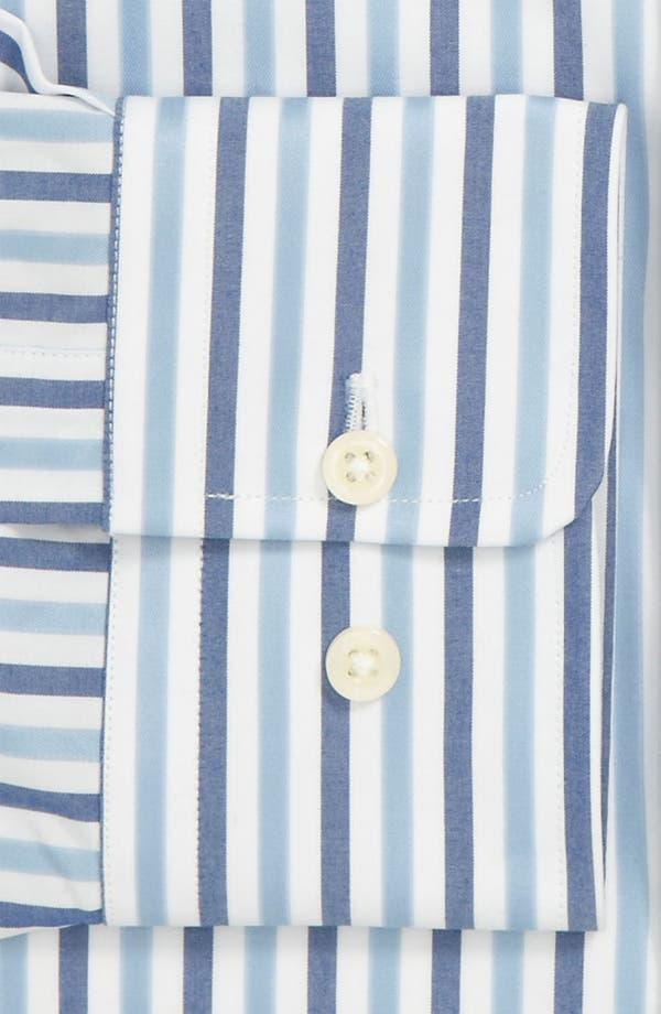 Alternate Image 2  - David Donahue Trim Fit Dress Shirt (Online Exclusive)