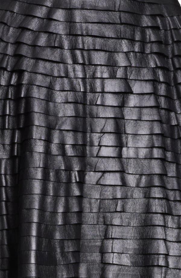 Alternate Image 4  - Jason Wu Tiered Leather Skirt