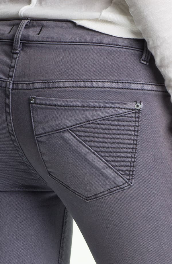 Alternate Image 3  - Free People 'Millennium' Colored Denim Bootcut Jeans (Violet)