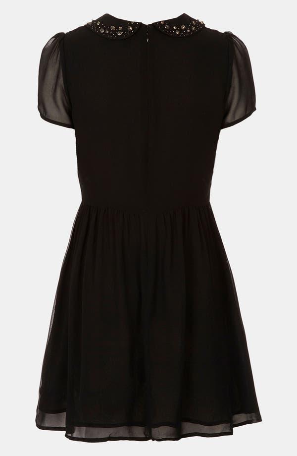 Alternate Image 2  - Topshop 'Flippy' Chiffon Dress