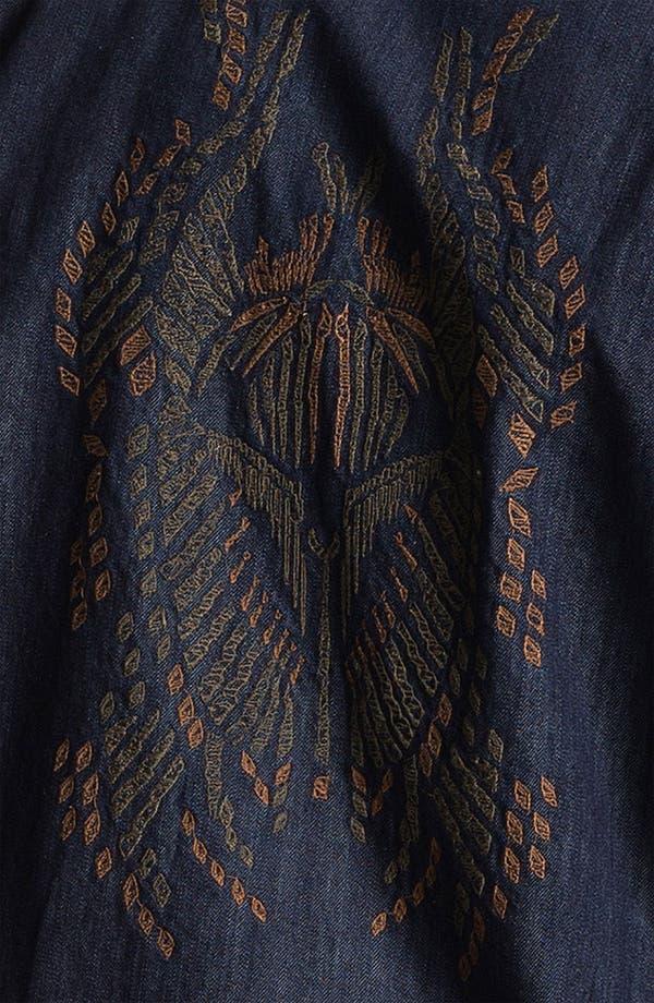 Alternate Image 3  - Zadig & Voltaire 'Tab Bis' Embroidered Denim Shirt