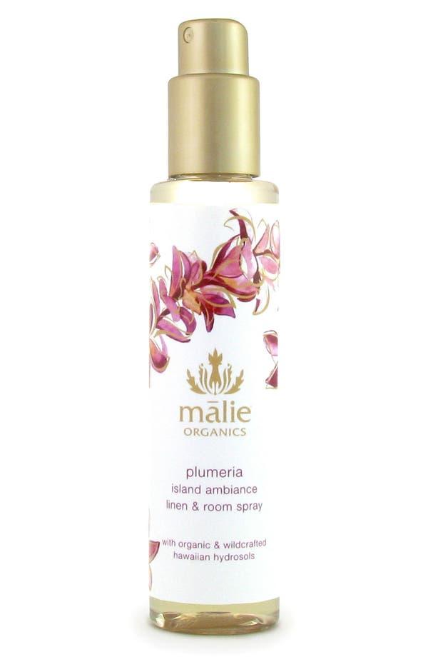 Main Image - Malie Organics Plumeria Organic Linen & Room Spray