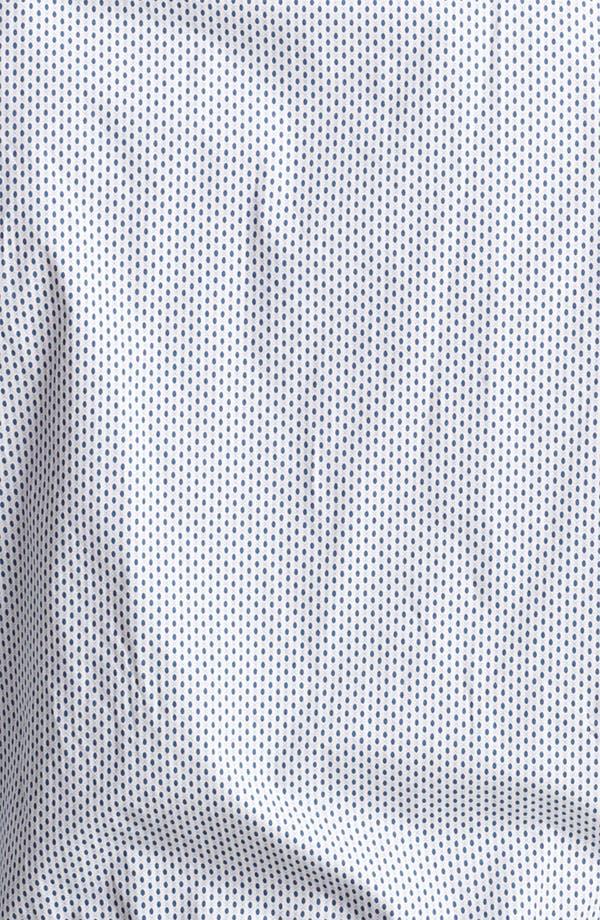 Alternate Image 3  - Armani Collezioni Dot Print Sport Shirt