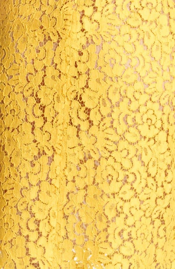 Alternate Image 4  - Michael Kors Floral Lace Shift Dress