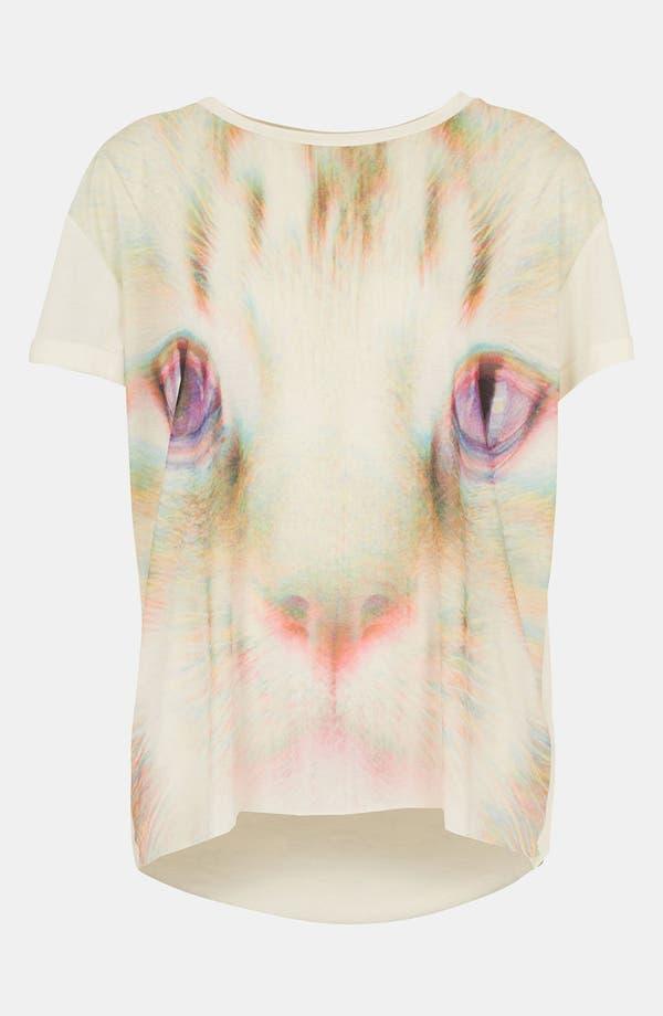 Alternate Image 1 Selected - Topshop 'Rave Cat' Tee
