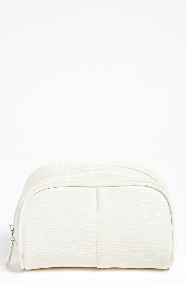 Main Image - Nordstrom White Cosmetic Bag