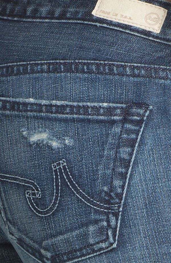 Alternate Image 3  - AG Jeans 'The Stilt' Cigarette Leg Stretch Jeans (7 Year Destroy)