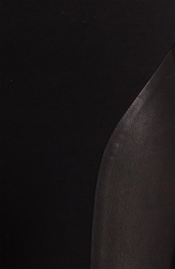 Alternate Image 5  - rag & bone 'Berliner' Leather Panel Leggings
