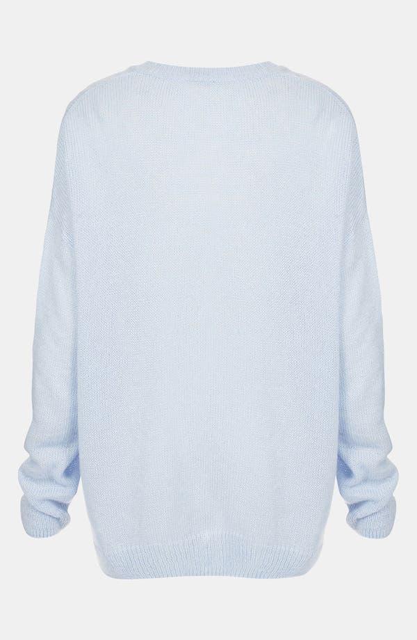 Alternate Image 2  - Topshop 'Cat Burglar' Intarsia Sweater
