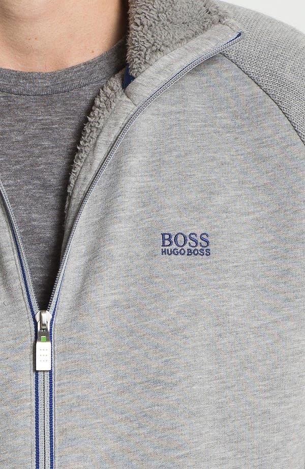 Alternate Image 3  - BOSS Green 'Skuddel' Zip Fleece