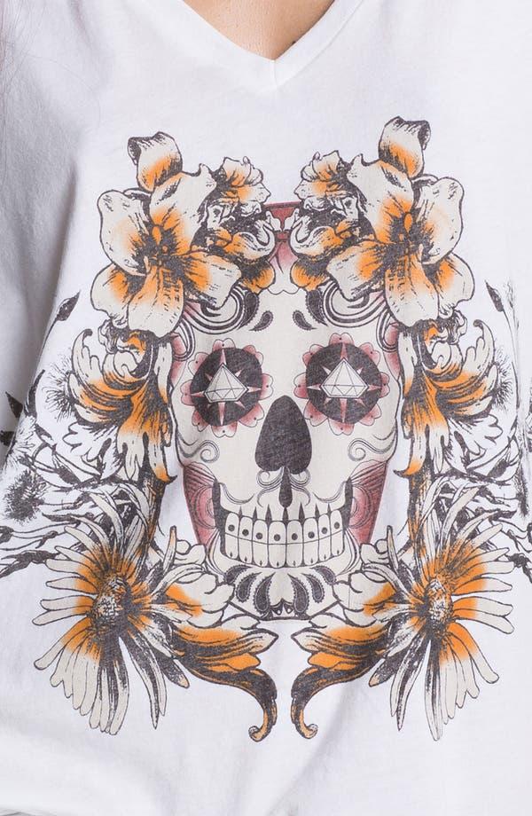 Alternate Image 3  - Chaser 'Skull & Rose' Graphic Tee