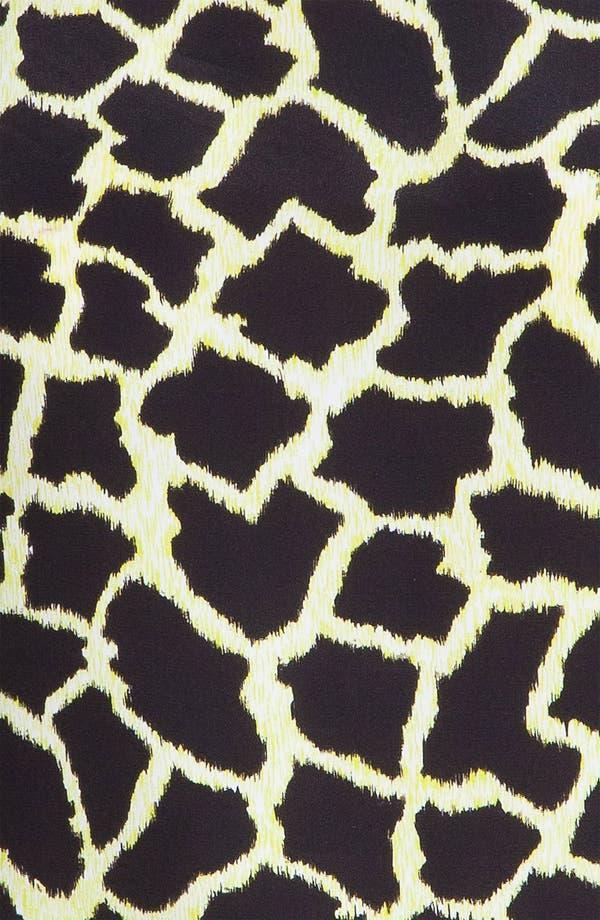 Alternate Image 5  - MSGM Giraffe Print Crêpe de Chine Tank