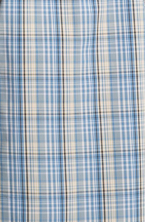Alternate Image 3  - Cutter & Buck 'Leary' Plaid Sport Shirt (Big & Tall)