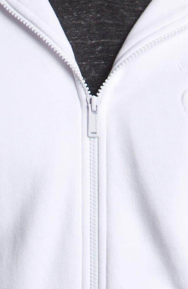 Alternate Image 3  - Lacoste Zip Hoodie