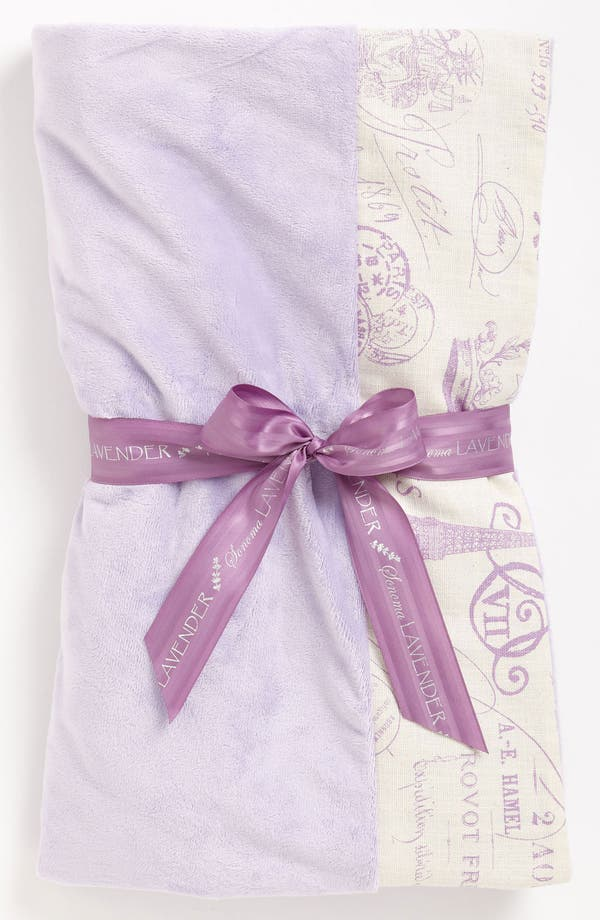 Alternate Image 1 Selected - Sonoma Lavender 'French Stamp' Spa Blankie