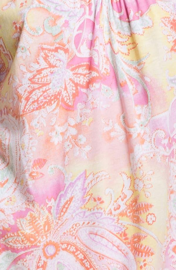 Alternate Image 3  - Lauren Ralph Lauren Paisley Pattern Pajamas