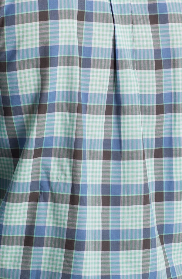 Alternate Image 3  - Cutter & Buck 'Tabor Plaid' Classic Fit Sport Shirt (Big & Tall)