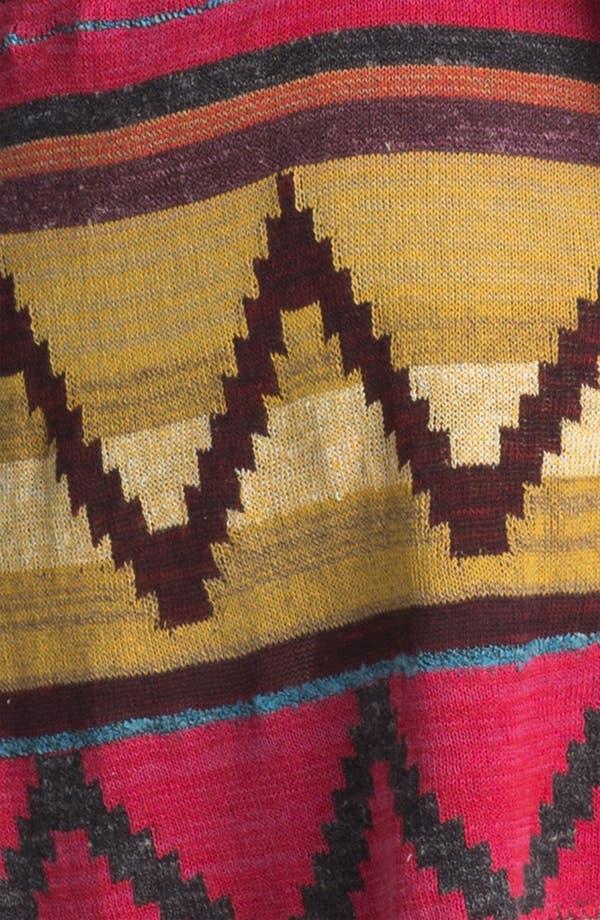 Alternate Image 3  - Free People 'Lima' Blanket Knit Hooded Cardigan