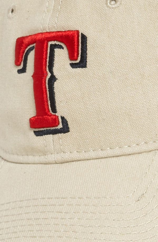 Alternate Image 2  - New Era Cap 'Shoreline - Texas Rangers' Baseball Cap