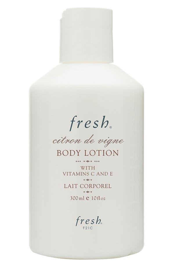 Main Image - Fresh® 'Citron de Vigne' Body Lotion