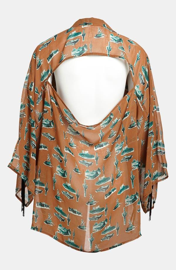 Alternate Image 2  - Viva Vena! Fringed Kimono Jacket