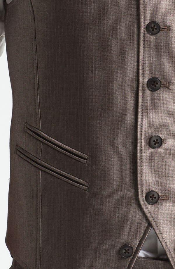 Alternate Image 3  - John Varvatos Star USA Red Label Vest