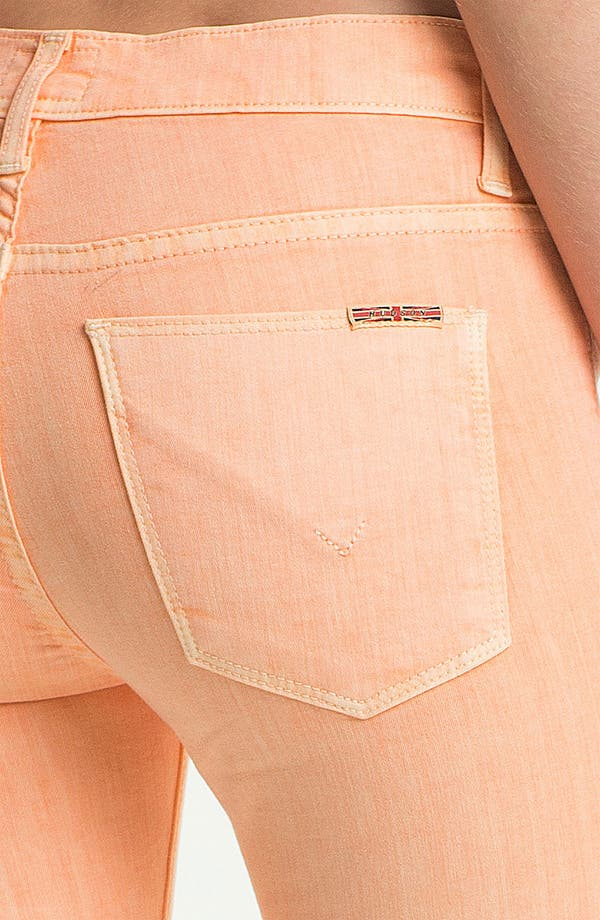 Alternate Image 3  - Hudson Jeans 'Nico' Skinny Overdyed Jeans (Apricot)