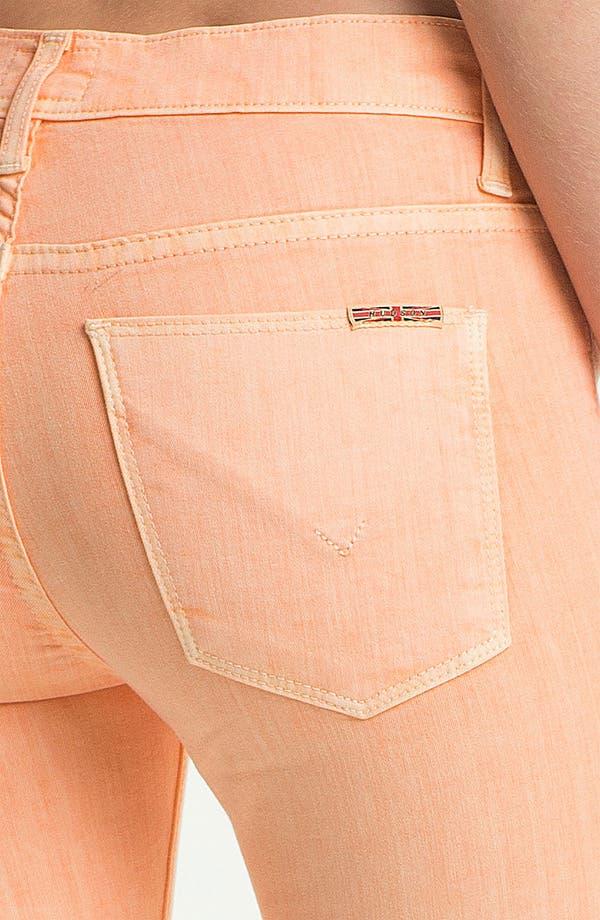 Alternate Image 3  - Hudson Jeans 'Nico' Skinny Overdyed Jeans (Apricot)