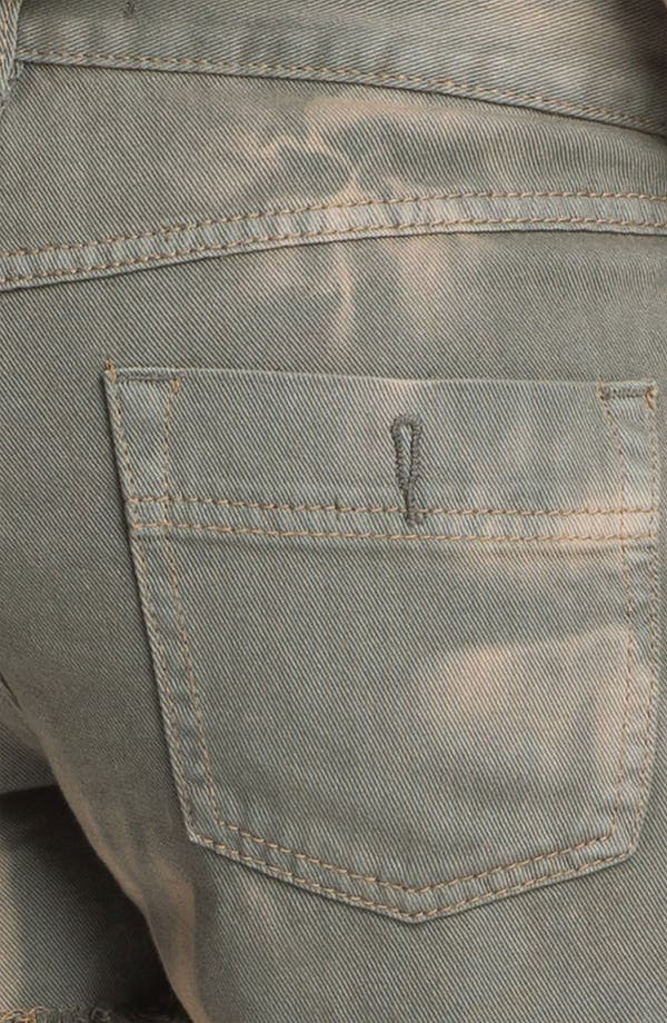 Alternate Image 3  - Free People 'Dolphin' Cutoff Denim Shorts (Grey)