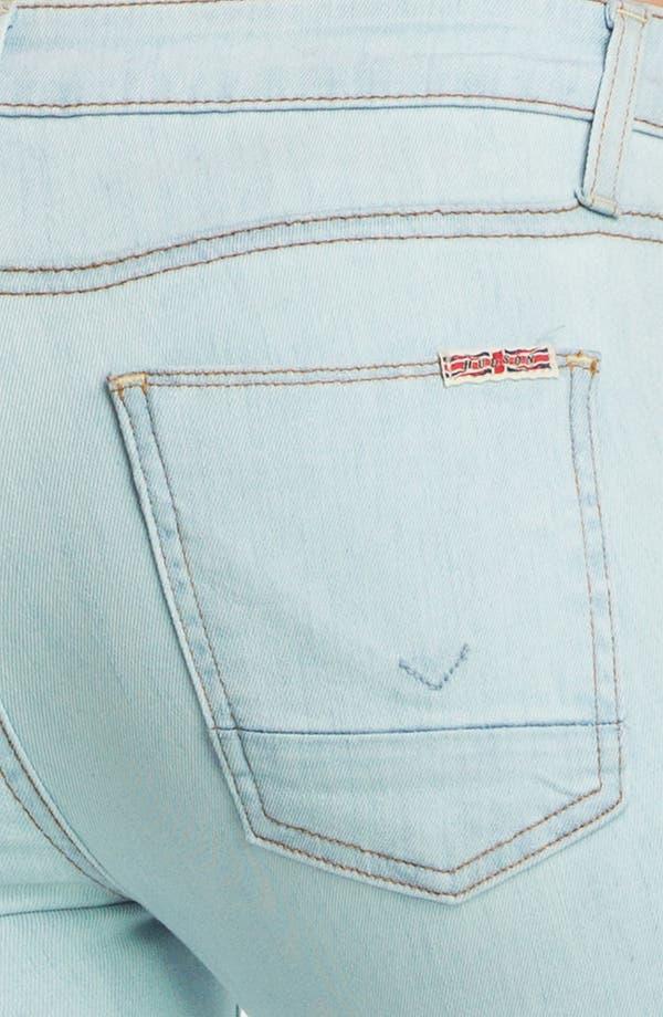 Alternate Image 3  - Hudson Jeans Flare Leg Jeans (Dahlia)