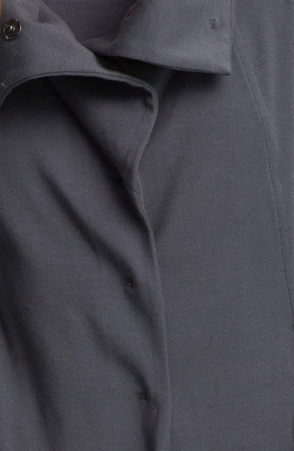 Alternate Image 3  - Eileen Fisher High Collar Shaped Jacket