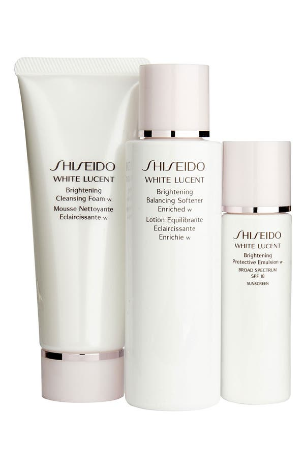 Alternate Image 1 Selected - Shiseido 'White Lucent' Brightening Starter Set ($75 Value)
