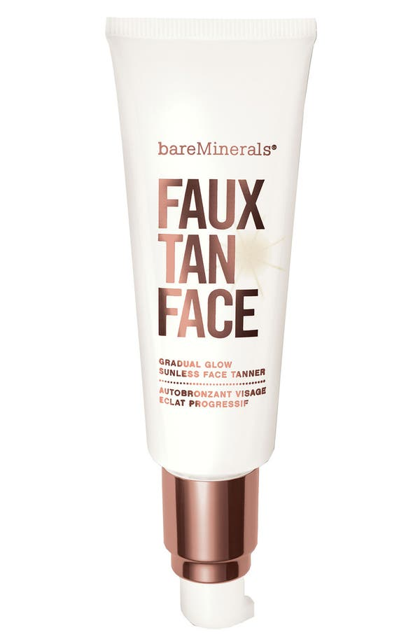 Alternate Image 1 Selected - bareMinerals® 'Faux Tan' Sunless Tanner for Face