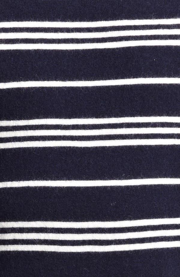 Alternate Image 3  - A.P.C. Stripe Crewneck Wool Sweater