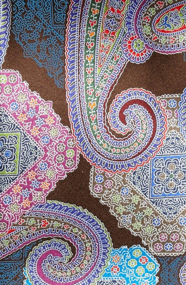 Alternate Image 2  - Ermenegildo Zegna 'Quindici' Woven Silk Tie