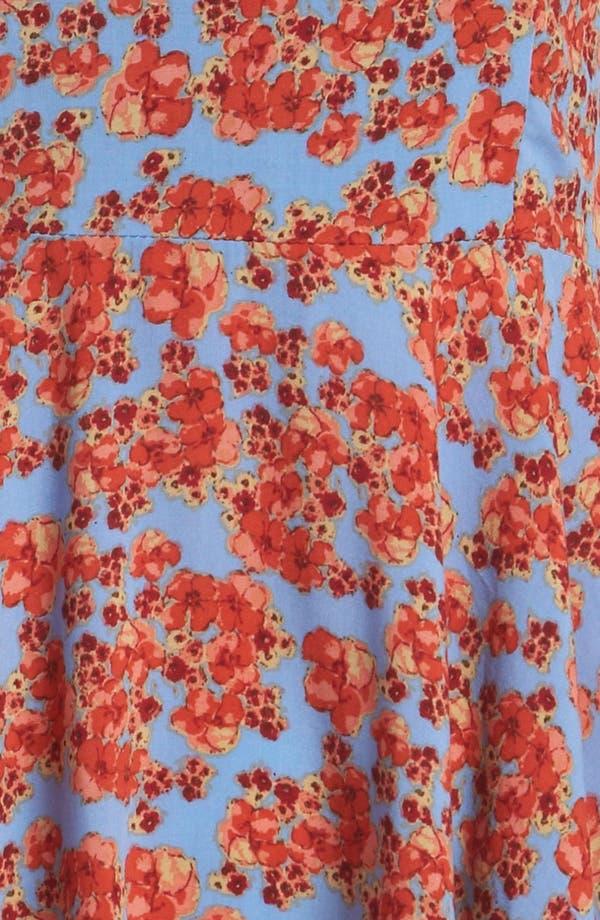 Alternate Image 4  - MINKPINK 'Red Sky' Skater Sundress